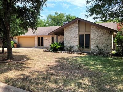 Single Family Home For Sale: 7504 Hill Meadow Cir