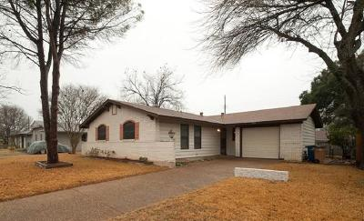 Travis County Single Family Home Pending - Taking Backups: 8506 Putnam Dr