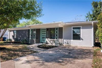 Austin Single Family Home For Sale: 6210 Haney Dr
