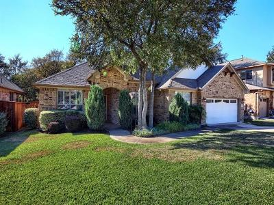 Round Rock Single Family Home For Sale: 3828 Sapphire Loop