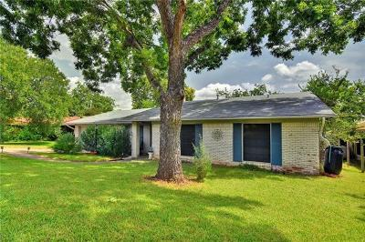 Travis County Single Family Home Pending - Taking Backups: 11403 March Dr