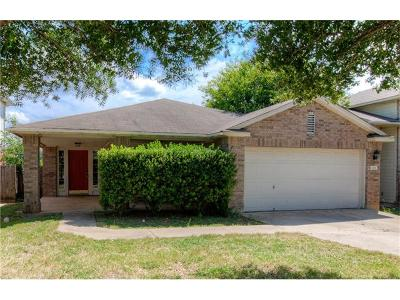 Pflugerville Single Family Home Pending - Taking Backups: 1121 Darjeeling Dr
