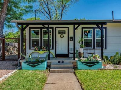 Austin Single Family Home Pending - Taking Backups: 1814 Justin Ln