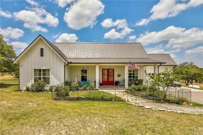 Spicewood Single Family Home For Sale: 1260 Gregg Ln
