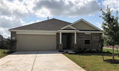 Round Rock Single Family Home For Sale: 6817 Caterina Cv