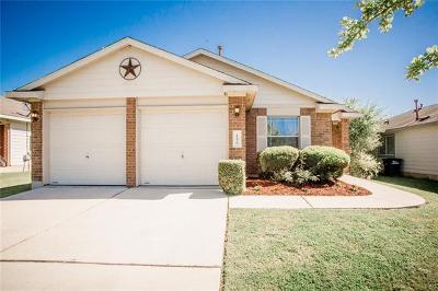 Kyle Single Family Home Pending - Taking Backups: 156 Pearl Lake Dr