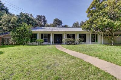 Austin Single Family Home For Sale: 8725 Tallwood Dr