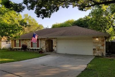 Pflugerville Single Family Home For Sale: 503 Creekbend Dr