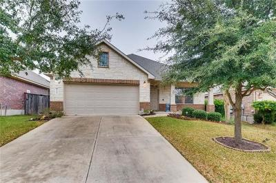 Round Rock Single Family Home For Sale: 1706 Hidden Springs Path
