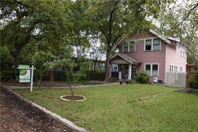 Travis County Single Family Home Pending - Taking Backups: 4105 Avenue H