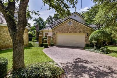 Lakeway Single Family Home For Sale: 19 Champion Ln