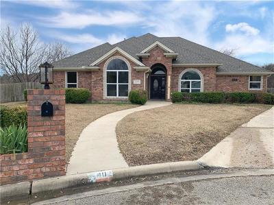 Harker Heights Single Family Home For Sale: 402 Panda Cir