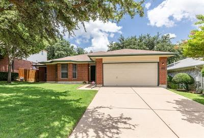 Cedar Park Single Family Home Pending - Taking Backups: 1320 Meghan Dr