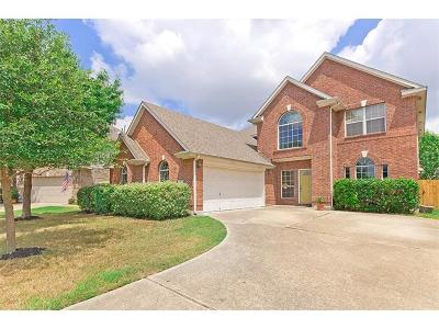 Pflugerville Single Family Home For Sale: 2208 Callaway Garden Ct