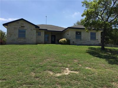 Georgetown Single Family Home For Sale: 1625 County Road 255