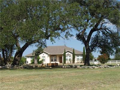 Liberty Hill Single Family Home For Sale: 116 Shady Oaks Trl
