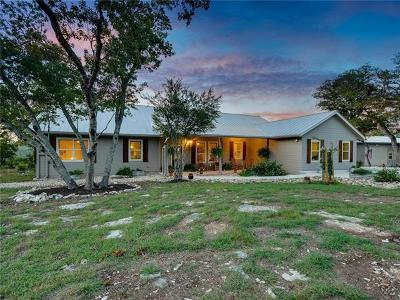 Wimberley TX Single Family Home For Sale: $890,000