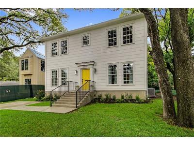 Austin Single Family Home For Sale: 2000 Exposition Blvd