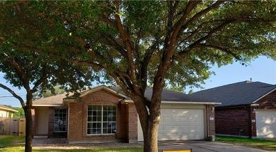 Round Rock Single Family Home For Sale: 617 Reggie Jackson Trl