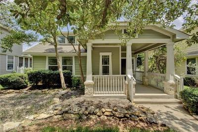 Round Rock Single Family Home For Sale: 1838 Logan Dr