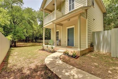 Austin Single Family Home For Sale: 1210 Em Franklin Ave #Back/B