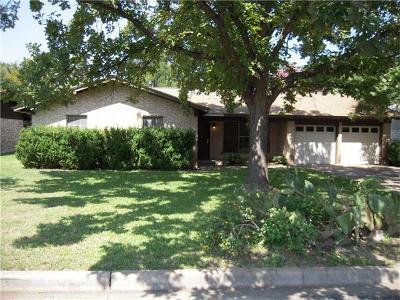 Travis County Single Family Home Pending - Taking Backups: 5004 Buffalo Pass