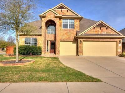 Pflugerville Single Family Home For Sale: 18900 Canyon Sage Ln