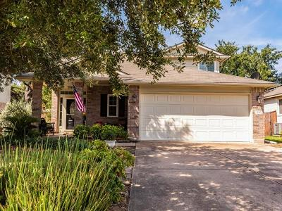 Round Rock Single Family Home Pending - Taking Backups: 3610 Spring Canyon Trl