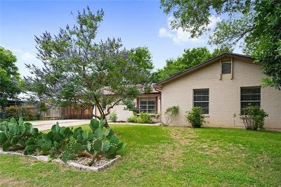 Travis County Single Family Home Pending - Taking Backups: 5002 Aberdeen Dr