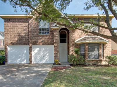Pflugerville Single Family Home For Sale: 506 Tanner Trl