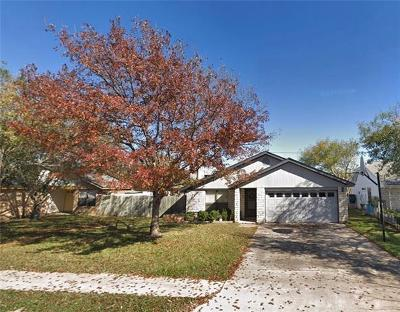 Round Rock Single Family Home For Sale: 1202 Peachtree Valley Dr