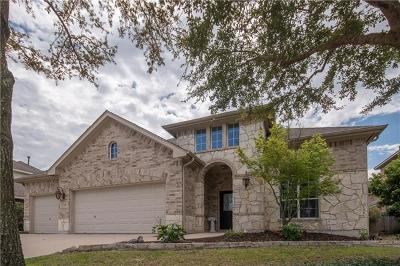 Pflugerville Single Family Home For Sale: 2705 Quiet Water Pass