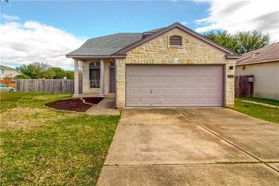 Cedar Park Single Family Home Pending - Taking Backups: 1200 Brashear Ln