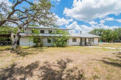 Wimberley Single Family Home For Sale: 2205 Lone Man Mountain Rd