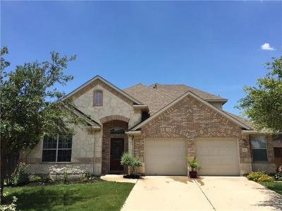 Leander Rental For Rent: 2704 Sun Mountain Dr