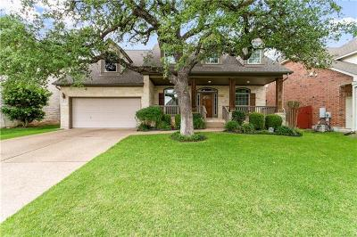 Cedar Park Single Family Home For Sale: 2703 Culver Cliff Ln