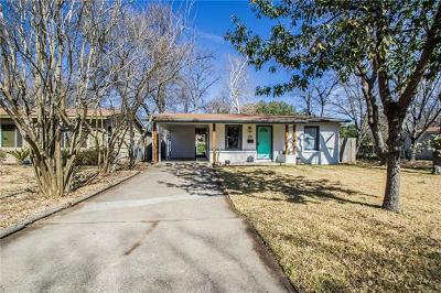 Travis County Single Family Home For Sale: 1106 Arcadia Ave