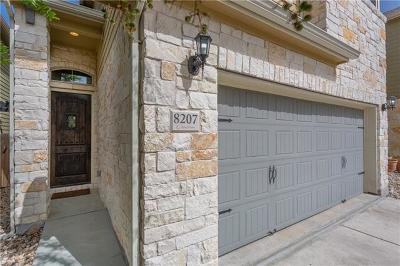 Hays County, Travis County, Williamson County Single Family Home Pending - Taking Backups: 8207 Nicola Trl
