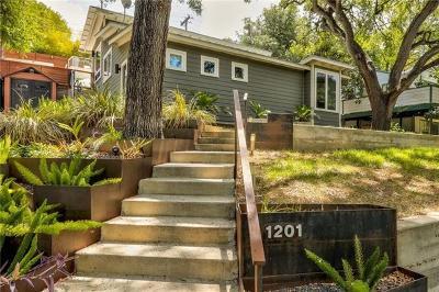 Austin Single Family Home For Sale: 1201 Alta Vista Ave