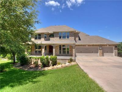 Cedar Park Single Family Home Pending - Taking Backups: 2811 Orsobello Pl