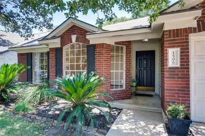 Cedar Park Single Family Home Pending - Taking Backups: 1506 Brighton Bend Ln