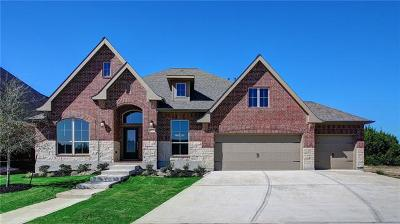 Leander Single Family Home For Sale: 2033 Judge Fisk Ct