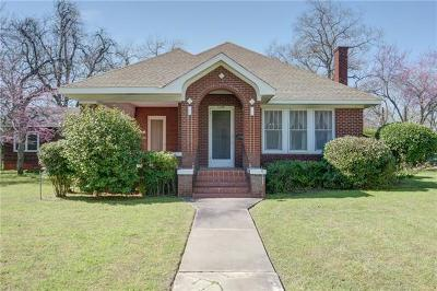 Bastrop Single Family Home For Sale: 1308 Pecan St