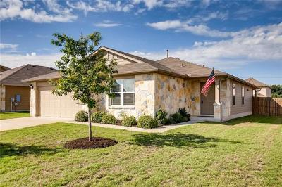 Hutto Single Family Home For Sale: 1002 Mitchell Dr