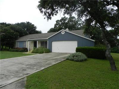 Hays County Single Family Home Pending - Taking Backups: 2710 Hunter Rd