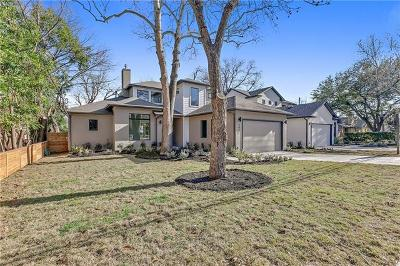 Travis County, Williamson County Single Family Home For Sale: 4615 Bull Creek Rd