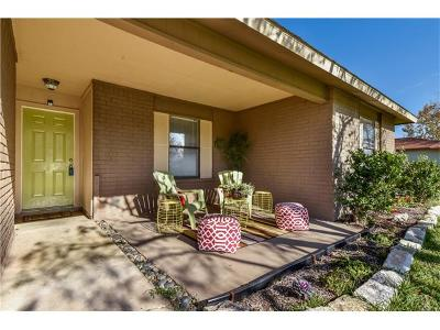 Round Rock Single Family Home For Sale: 1405 W Mesa Park Dr