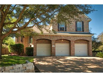 Cedar Park Single Family Home For Sale: 1011 Shadow Valley Cv