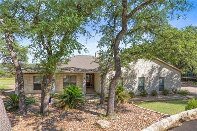 Lago Vista Single Family Home For Sale: 21523 Lakefront Dr