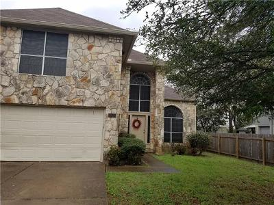 Cedar Park Single Family Home Pending - Taking Backups: 2113 Dayflower Trce